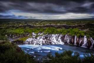 Lava-Waterfalls