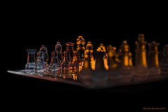 """Chess! """"This weeks photo for our Contest in our Group. Veckans Fotoutmaning: Abstrakt (MIKAEL82KARLSSON) Tags: schack chess abstrakt light lights life game play lek ficklampa pentax k70 1650mm 50mm sverige sweden mikael82karlsson"""