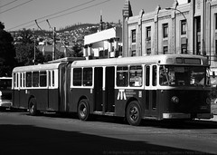 Valparaiso (lugar.citadino) Tags: world earth place downtown street road avenue landscape hill sky architectural architecture buildings building tower facade transportation transport publictransportation publictransport trolleybus trolley bus commuter old retro kitsch moment day midday afternoon explore explorer exploration cityexploration urbanexploration photography photo picture image monochrome black white shadow dark canon canonphotography cityphotography urbanphotography tbt throwbackthursday travel destination discovery art artistic beautiful creative imagination imaginative sensational stunning