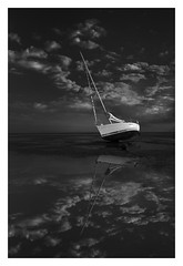 First (bprice0715) Tags: canon canoneos5dmarkiii canon5dmarkiii landscape landscapephotography nature naturephotography seascape serene peaceful reflection boat sailboat blackandwhite blackwhite bw fineart contrast highcontrast lowkey monochrome mono capecod pointofrocksbeach newengland newenglandcoast ocean water sky clouds