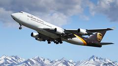 UPS B747 N577UP [ In Explore ] (Olivier Pirnay) Tags: panc anchorage alaska boeing 747400 b747 ups n577up