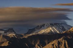 Hidden! (_Amritash_) Tags: hidden mountain mountainscape mountainrange stokrange stokkangri himalayas himalayanranges himalayanlandscape morninginhimalayas morning sunrise himalayansunrise travel travelindia ladakh leh