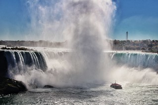 Niagara Falls Ontario ~ Canada ~ Horseshoe Falls ~ Historic Site