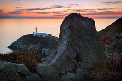 Sunset at South Stack (G-WWBB) Tags: southstack lighthouse holyhead northwales wales cymru sunset rocks landscape seascape longexposure anglesey