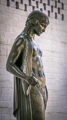 Maidenhood (dayman1776) Tags: brookgreen gardens south carolina usa america sculptures sculpture statue escultura skulptur nude woman girl figurative art museum bronze allegory purity telephoto