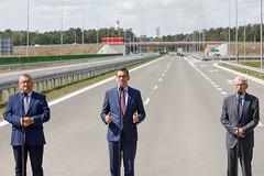 Otwarcie II etapu obwodnicy Puław (Kancelaria Premiera) Tags: premier mateuszmorawiecki puławy s12 infrastruktura drogi