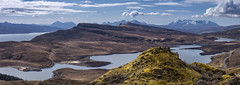Skye Panorama (J McSporran) Tags: scotland highlands westhighlands isleofskye blackcuillins redcuillins isleofraasey duncaan lochleathan panorama