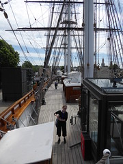 View from upper deck (c_nilsen) Tags: cuttysark ship clippership london unitedkingdom england teaclipper
