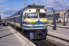 DR1B-3703  Tallin  16.06.14 (w. + h. brutzer) Tags: tallin gus eisenbahn eisenbahnen train trains triebzug triebzüge triebwagen railway lokomotive locomotive zug webru analog nikon
