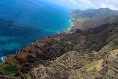 Helicopter ride (andieharsany) Tags: coast ocean helicopter hawaii kauai