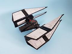 First Order Elite TIE Interceptor (kozikyo86) Tags: lego star wars first order elite tie interceptor fighter moc mod design designer last jedi force awakens