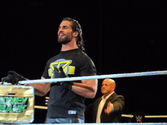 WWE Live (DavRivPhotog) Tags: wwe wwenxt wwelive wwesdlive wweraw wwesmackdown wwesd nxt nxtlive wrestling wrestle wrestler wrestlecircus prowrestling indiewrestling independentwrestling professionalwrestling professionalwrestler sethrollins seth rollins bellas