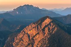 Alpine Sunset (redfurwolf) Tags: herzogstand bavaria germany mountains outdoor nature landscape sky sunset sunsetlight redfurwolf hiking travel sonyalpha sony a7rm3 sal70200f28gii