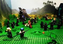 Battle of Wakanda (AJV Films) Tags: lego brickfilm toys superhero marvel scene captianamerica black widow bucky barnes minifigure minifig minifigs wakanda wakandaforever
