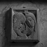 21 - Nogent-sur-Seine - Eglise Saint-Laurent - Sainte Famille, Bas-relief thumbnail