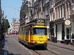 GVB 602 (jvr440) Tags: tram strassenbahn trolley gvb amsterdam ema elektrische museumtramlijn bolkop 3g 602