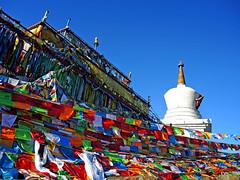 Stupa (MelindaChan ^..^) Tags: sichuan china 四川 川西高原 buddha buddhism chanmelmel mel melinda melindachan stupa pagoda