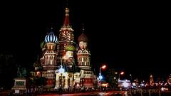 Se nos vino la noche en Rusia (Miradortigre) Tags: russia moscu rusia moscow moskau redsquare plaza roja night noche dark oscura