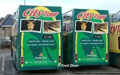 Dublin Bus RH66/7 (91D1066/7). (Fred Dean Jnr) Tags: dublin april2005 bstone broadstonedepotdublin broadstone buseireannbroadstonedepot dublincitytour dublinbus busathacliath leyland olympian alexander r rh66 91d1066 rh67 91d1067