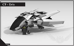 CF - Eris (SHR0UD) Tags: ideas ldd render wallpaper scifi fighter spaceship ship space lego