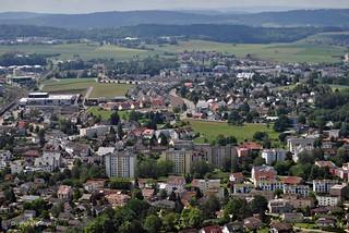 Oberglatt von Oben * Oberglatt from above * Oberglatt desde arriba * Zurich, Switzerland *    .  DSC_4004