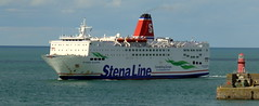 18 08 10 Stena Europe arriving Rosslare (9) (pghcork) Tags: stenaline ferry ferries carferry stenaeurope ireland wexford rosslare ships shipping