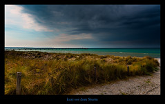 vor dem Sturm .... (Rukiber) Tags: ostsee deutschland mecklenburgvorpommern natur dars beach strand sommer christian kirsch rukiber