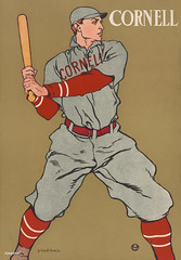 Vintage drawing of a baseball player holding a bat by Edward Penfield (1866-1925). Original from Library of Congress. Digitally enhanced by rawpixel. (Free Public Domain Illustrations by rawpixel) Tags: america antique art athletic baseball bat boy cornell decor decoration drawings edward edwardpenfield handsome historical holding illustrated illustration isolated man needstitch old painting penfield player poster professional pursuit recreational sketch sketching sports sportsman states united vintage young