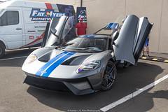 Le Mans Winner (Hunter J. G. Frim Photography) Tags: supercar colorado 2017 ford gt american gray silver stripes v6 turbo fordgt 2017fordgt hypercar
