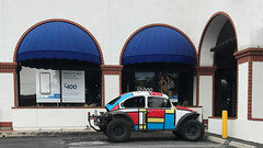 Abstract Art VW (remiklitsch) Tags: pietmondrian compositionwithredblueandyellow abstract vw beetle car auto automobile street urban art remiklitsch iphone color colors colorful red blue yellow black colorblock la california volkswagen