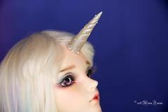 Unicorn horn MSD (AnnaZu) Tags: unicorn horn sircca minifee fairyline annazu annaku vesnushkahandmade polymer clay fimo sculpey magnetic fantasy parts commission bjd doll balljointed abjd fairyland dollfairyland