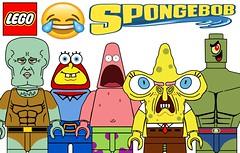 Funny Lego Spongebob Squarepants Minifigures !!! (afro_man_news) Tags: lego minifigures funny memes spongebob squarepants characters all squidward patrick star mr krabs plankton pearl sandy cheeks gary snail mrs puff custom tv show must wacth jokes cartoon
