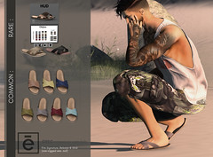 Greg crossover sandals ad for PocketGacha (>Ale<) Tags: aleidarhode gacha pocketgacha event hud shoe footwear sandals men homme male boys guys man masculine shoes 3d mesh contentcreator new secondlife sl virtualworld avatar fashion