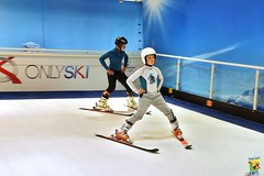 Séance de ski sur Tapis à OnlySki Lyon
