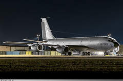 Boeing KC-135R Stratotanker United States US Air Force 57-2605 (Clément W. - Jet 4U Aviation Photography) Tags: boeing kc135r stratotanker united states us air force 572605 mhz egun
