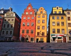 Stortorget (Douguerreotype) Tags: sweden city historic buildings sverige restaurant cobblestones stockholm architecture urban