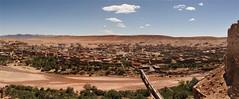 Ksar Ait Ben Haddou Pano(8) (jarhtmd) Tags: africa morocco canon eos70d landscape pano panorama bridge