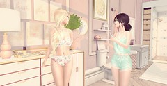 Morning routine (ecerinei) Tags: sorumin fetch collabor88 lagom michan prtty raindale sanarae tableauvivant tcf thebuildersbox thegachagarden theowlposes