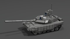 t90ms main battle tank finished2 (demitriusgaouette9991) Tags: lego military army ldd armored tank russian powerful railgun turret deadly strongest