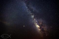 Mars and Milky Way († David Gunter) Tags: mars milky way galaxy stars space cosmos