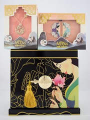 Mulan 20th Anniversary Jewelry Box, Necklace and Pin - Disney Store Purchases (drj1828) Tags: mulan 20thanniversary jewelry box wood limitededition le1390 disneystore us shopdisney productinformation purchase deboxed