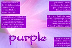 purple poster (Martin LaBar) Tags: purple color colors poster lydia cloth royalty
