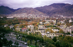 tehran (amazingstoker) Tags: tehran iran panorama film cityscape
