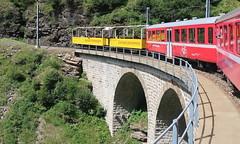 Berninabahn, 23.07.18 (ritsch48) Tags: berninabahn rhb viadukt cavaglia panoramawagen weltkulturerbe