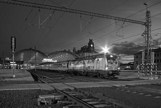 Regiojet 193 227 + IC 1021 Praha hl n - Kosice  - Praha hl n 2