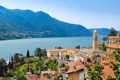 Lake Como (pecsilinda) Tags: lake italy como view landscape panorama oldtown sunny holiday travel traveling canon 600d