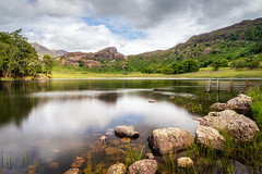 Blea Tarn (Rich Walker Photography) Tags: blea tarn lake lakedistrict cumbria england greatbritain mountain mountains landscape landscapes landscapephotography landcapes canon efs1585mmisusm eos eos80d water rocks tree trees clouds cloud sky