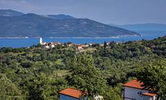 Brseč iz Martine (MountMan Photo) Tags: brseč liburnia primorskogoranska croatia landscape more sea otoci islands