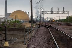 Clinton Railyard (string_bass_dave) Tags: clinton unionpacific train up iowa freight railway flickr railroad unitedstates us