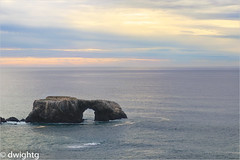 A nice day along the California Coast (dwight g) Tags: canon 80d 70200 pacific ocean rock clouds ps topaz